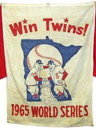 1965 Twins World Series banner