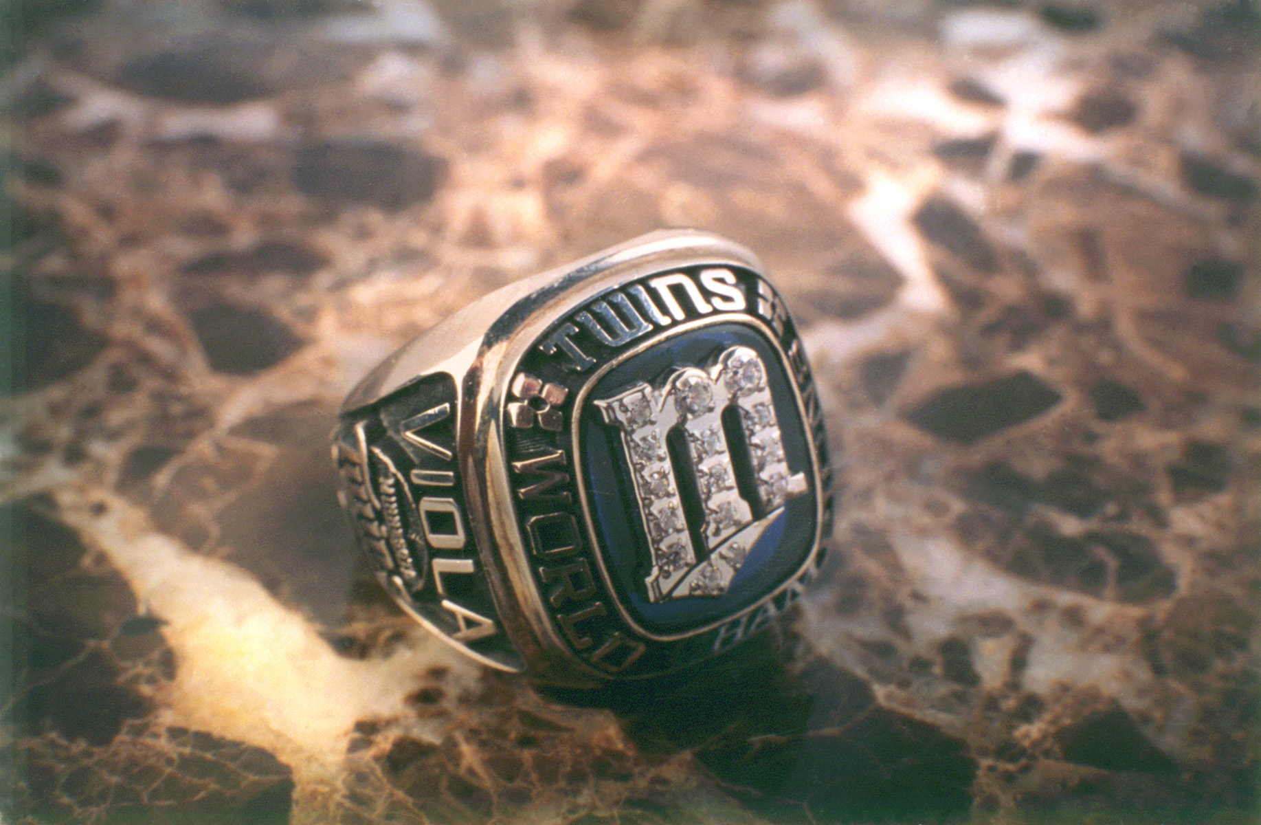 1987 Salesman sample Twins World Series ring