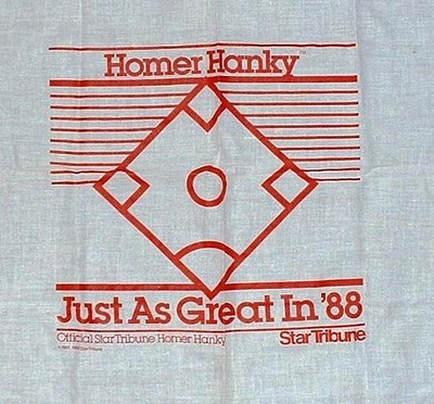 1988 Homer Hanky - The distribution of this Homer Hanky I think was very limited.