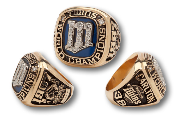 1987 Steve Carlton World Series rings up for sale in 2015