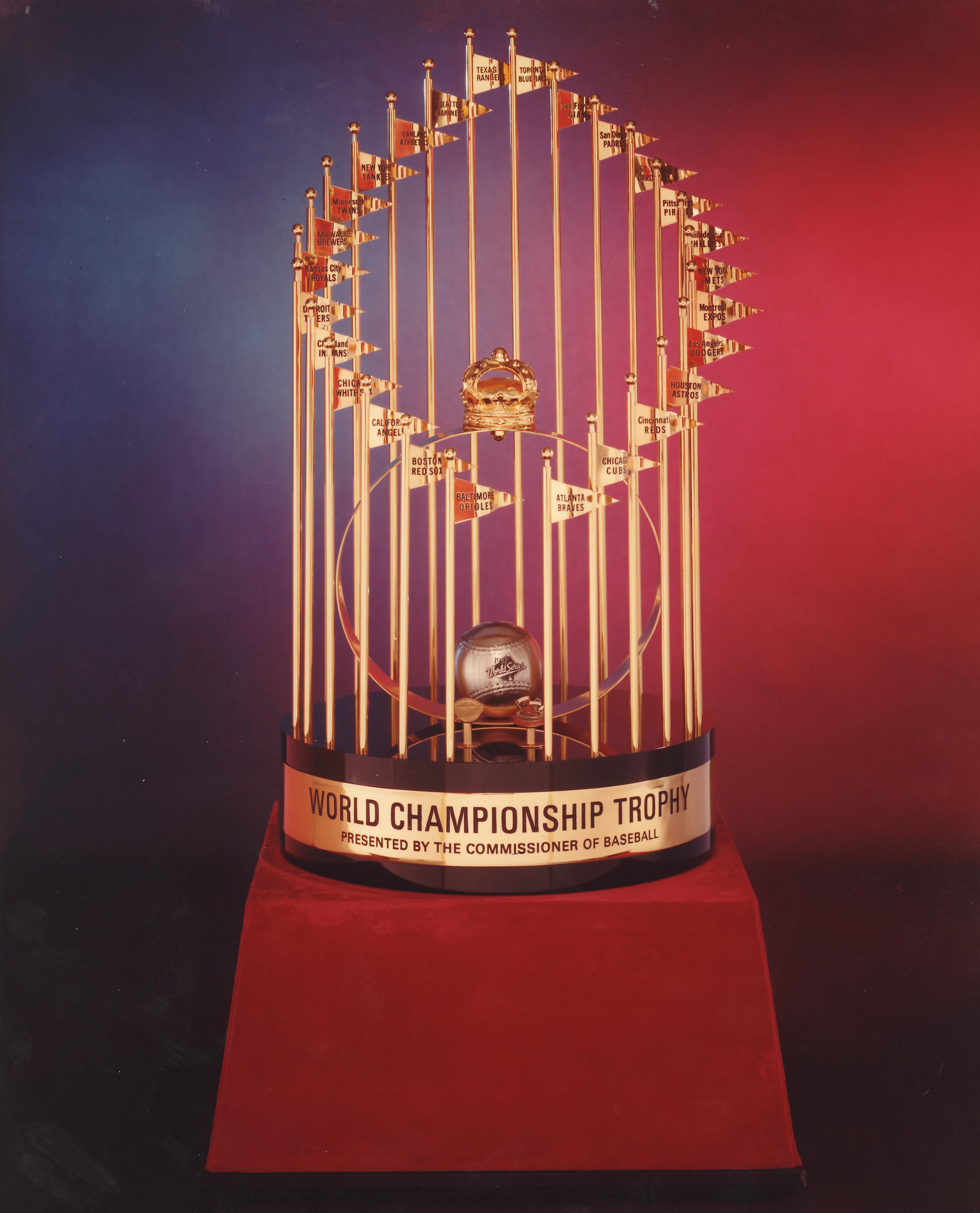 1987 World Series trophy
