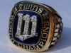1987 Frank Viola World Series ring front view 1