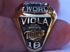 1987 Frank Viola World Series ring side view 1