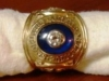 1965 Frank Quilici AL Championship ring top-view 1