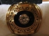 1965 Frank Quilici AL Championship ring top-view 2