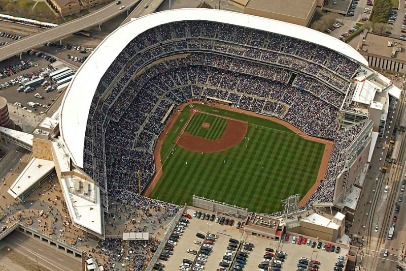 Target Field - Opening Day