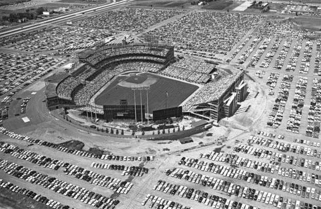 Met Stadium All-Star game 1965 MN Historical Society
