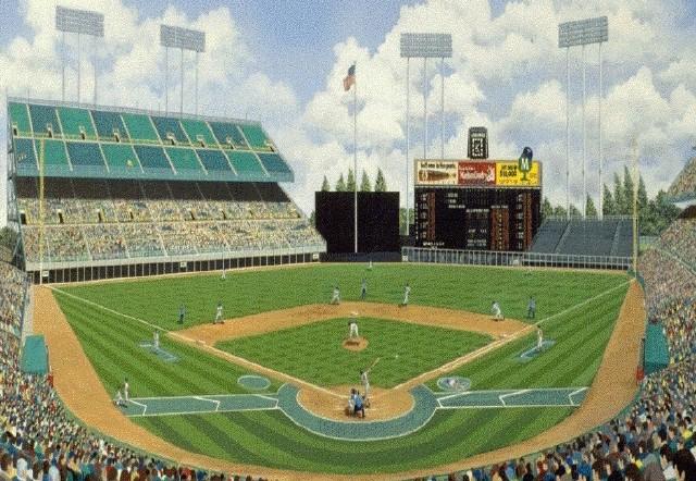 Met Stadium painting
