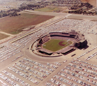 Met Stadium - from the air