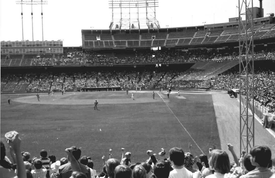Looking in from left field