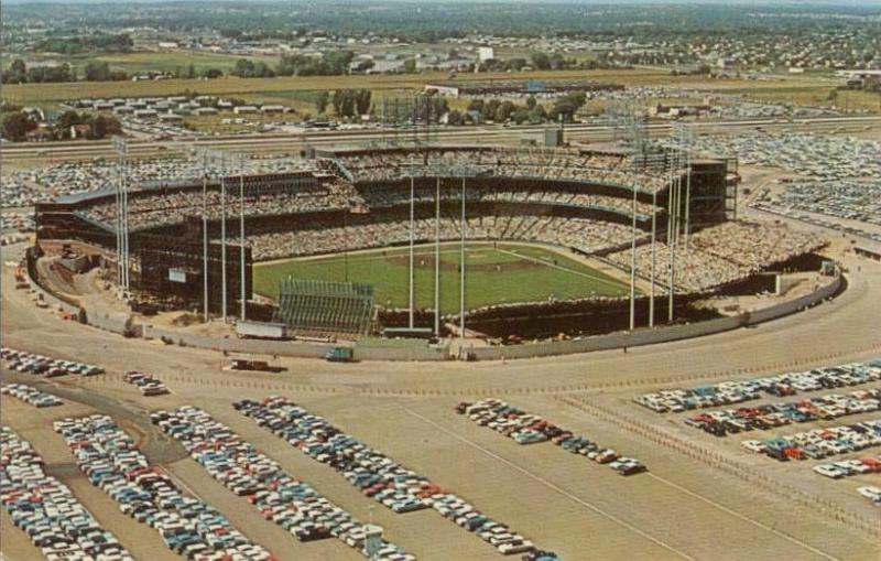 Met stadium aerial shot
