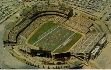 Met stadium in the football configuration for the Minnesota Vikings