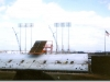 Met Stadium left field construction April 12, 1965