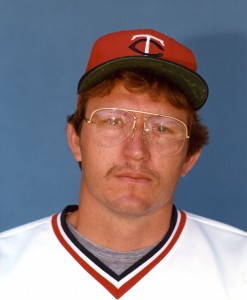 Ron Davis - Twins pitcher from 1982 - 1986 (courtesy of the Minnesota Twins)