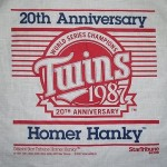 2007 Homer Hanky - 20th anniversary of 1987 championship