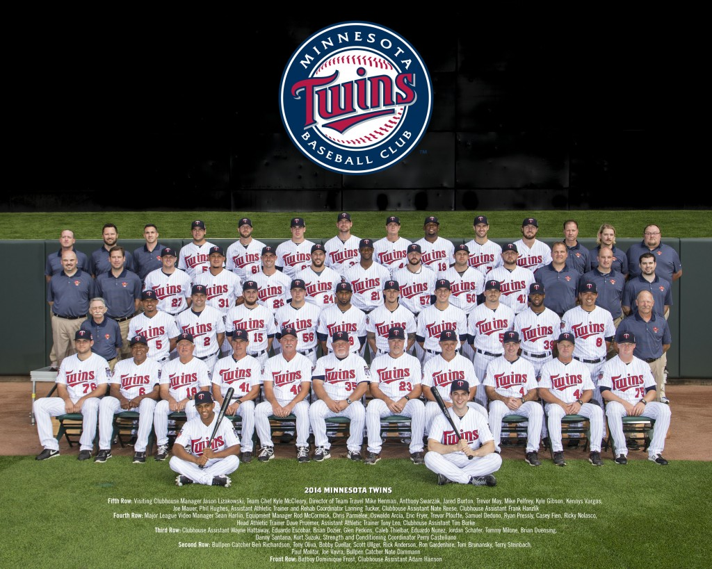 2014 Minnesota Twins Team Photo