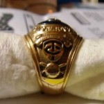 1965 Frank Quilici AL Championship ring - side view