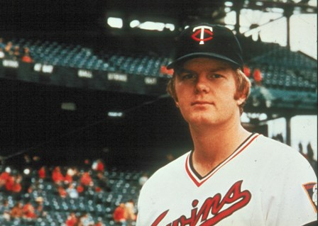 Native Minnesotan Dave Goltz - Twins pitcher from 1972 - 1979 (courtesy of Minnesota Twins)