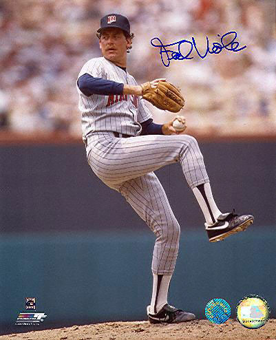 Frank Vioa called the Metrodome home from 1982 - 1989. Second most wins in Dome history (59) and innings pitched (934.0). Viola was 3-1 in the 1987 postseason, winning Games 1 and 7 of the 1987 World Series.
