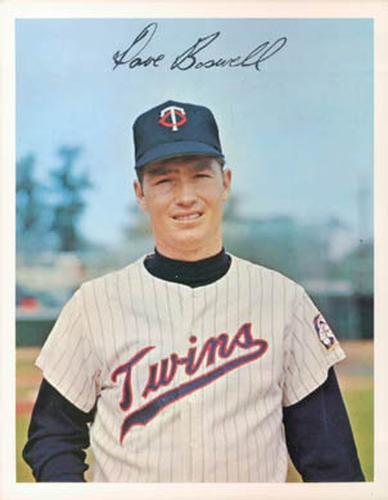 Dave Boswell - Twins pitcher from 1964 - 1970
