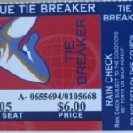 2003 Twins phantom Tie-Breaker ticket. Click on the ticket to see the full image.