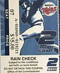 2004 Twins ALDS ticket. Click on the picture to see the full image.