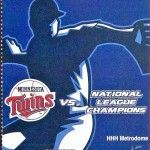 2004 Twins phantom World Series ticket. Click on the picture to see the full image.
