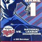 2006 Twins phantom World Series ticket. Click on the ticket to see the full image.