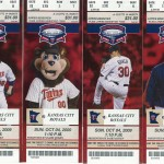 2009 Twins tickets