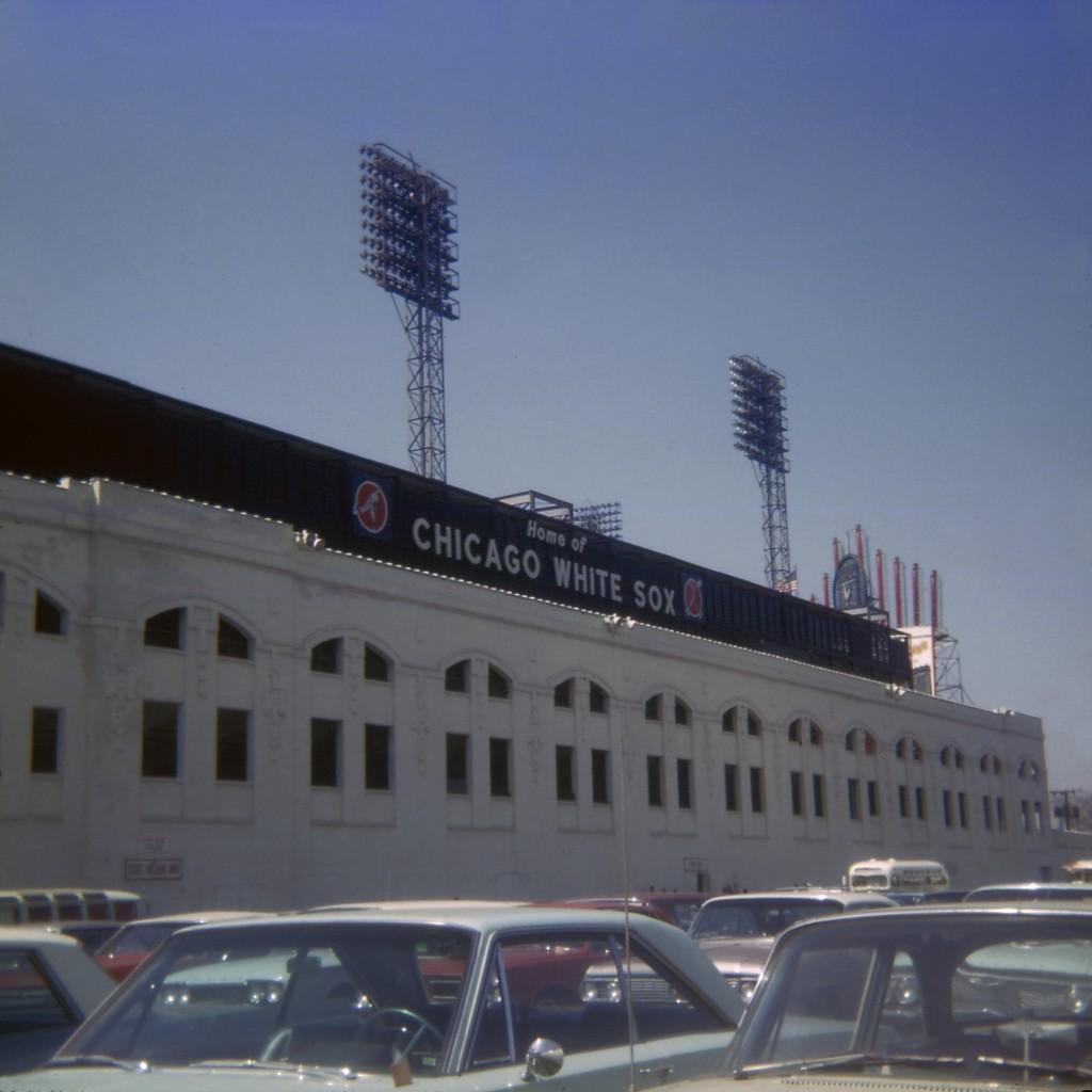 Comiskey Park April 16, 1966