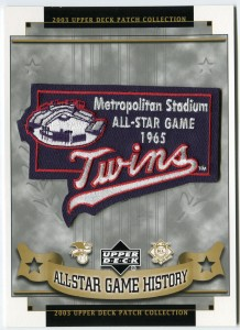 1965 All-Star game patch