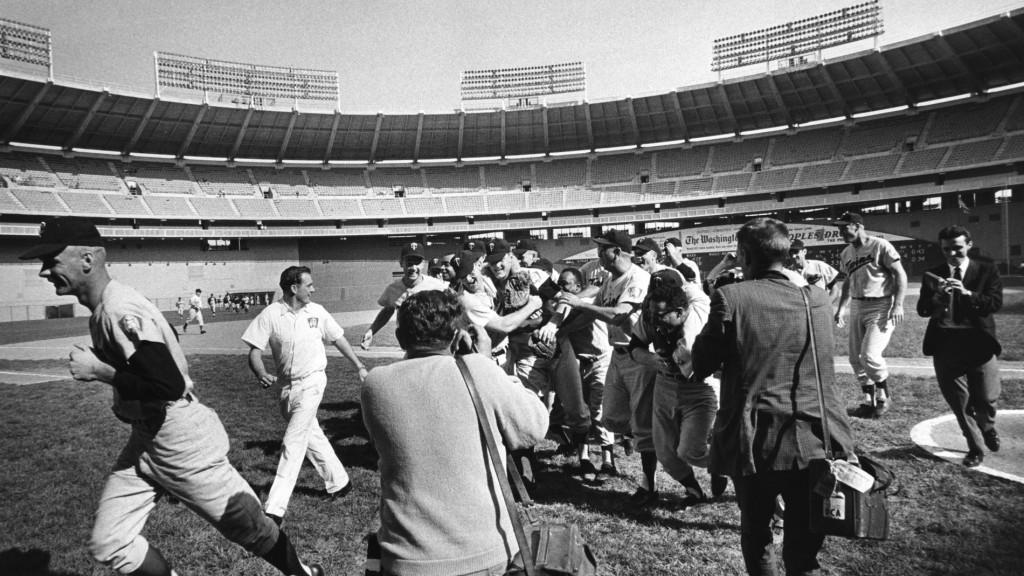 1965 Twins celebration