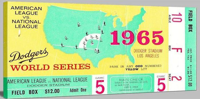 1965 World Series game 5