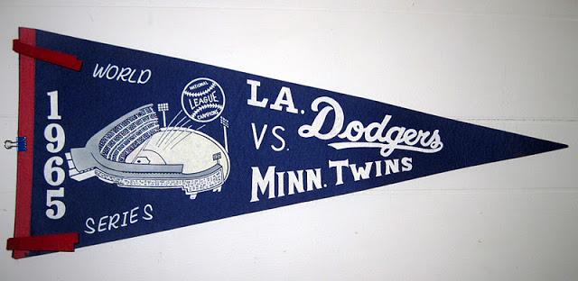 1965 World Series pennant