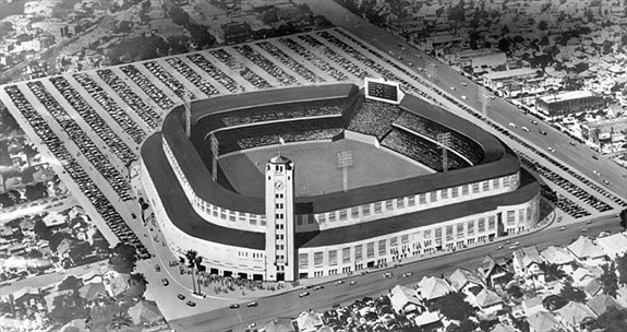 Wrigley Field - Opened in 1925, closed in 1965 and demolished in 1966. Wrigley Field's brief major league status ended after the 1961 season. Most people remember Wrigley Field as the backdrop for the old TV series home run derby. It was also the site for several baseball themed movies including pride of the Yankees, and the old Munsters TV show