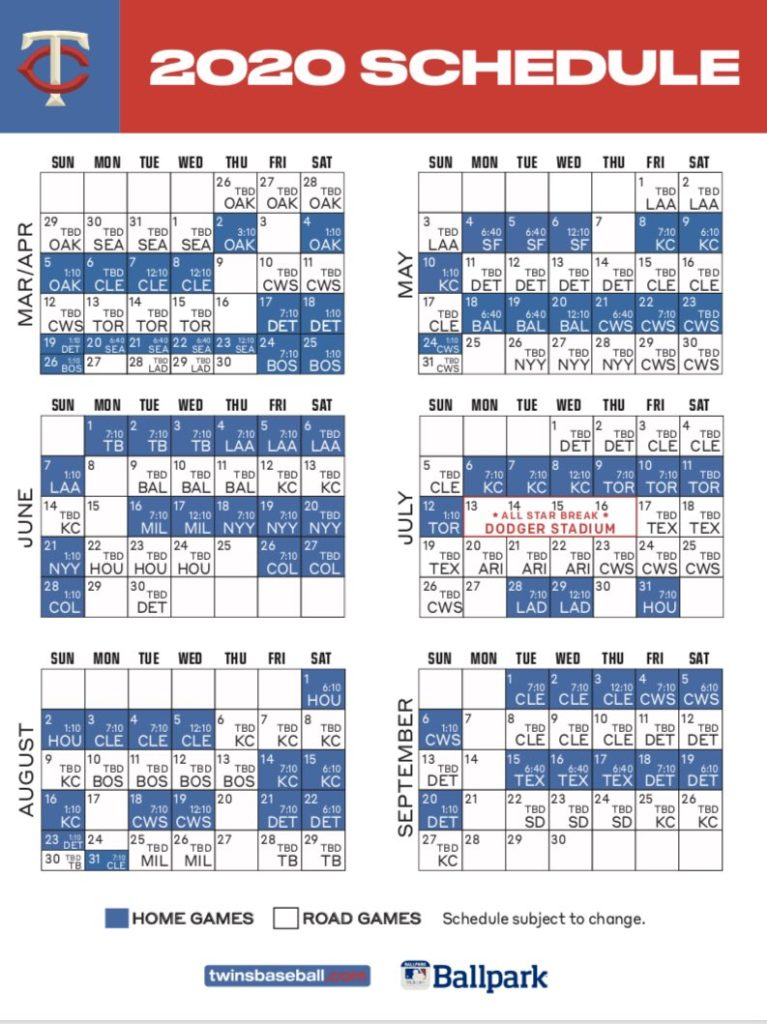 It is a graphic of Old Fashioned Twins Printable Schedule