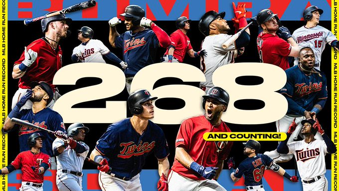 minnesota twins now best home run hitting team in mlb history twinstrivia com run hitting team in mlb history